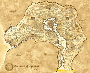Карта Обливиона